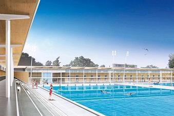 piscine olympique le grand bleu cannes